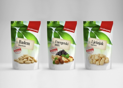 Design of the dried fruits and nuts product line