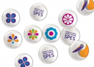 Visual identity of SPES, Mostar