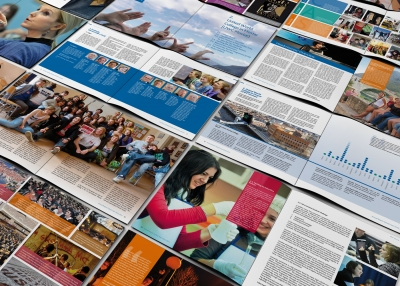 Annual report design UWC
