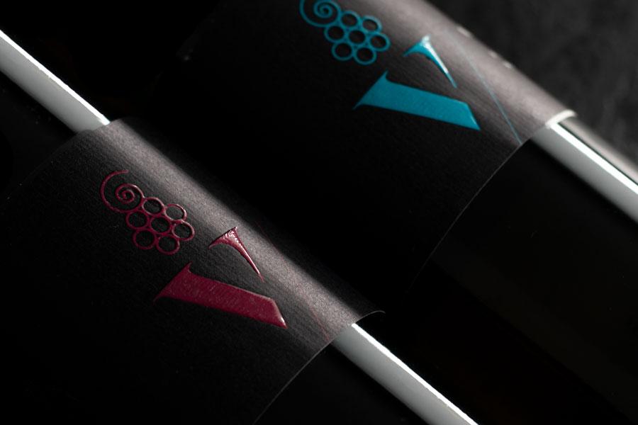 dizajn etikete za vino logotip vizualni identitet graficki dizajn shift miviko