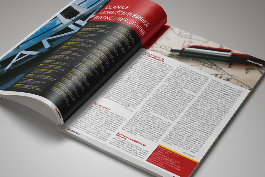 Dizajn časopisa BH Bankar