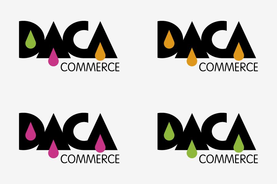 vizualni identitet daca commerce
