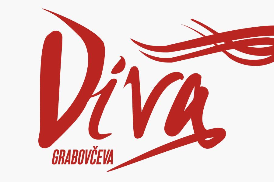 dizajn logotipa diva grabovčeva prva hrvatska opera