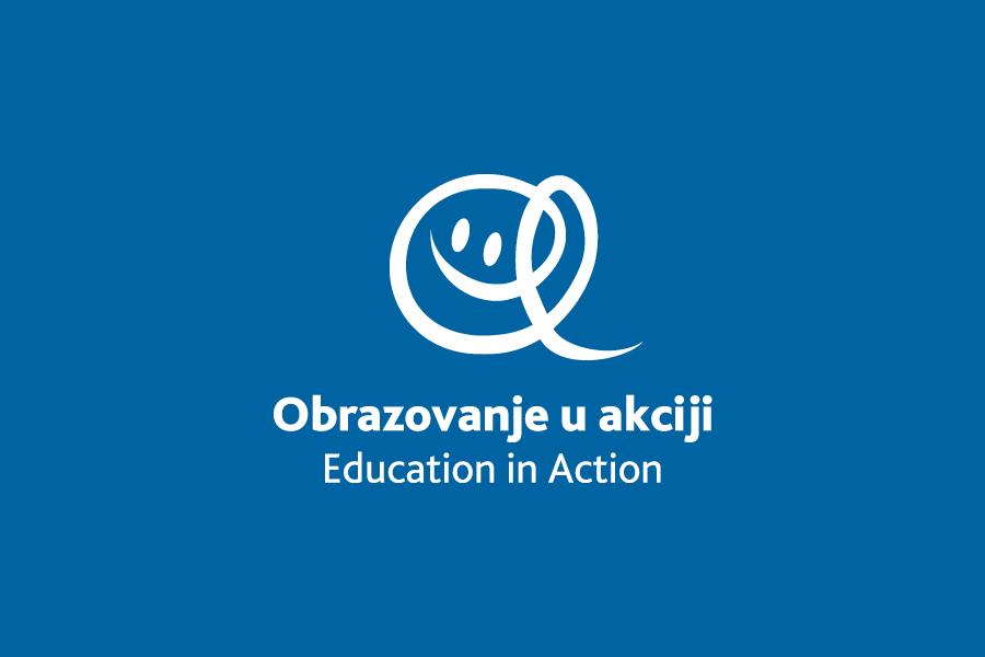 Dizajn logotipa Education in Action, shift mostar