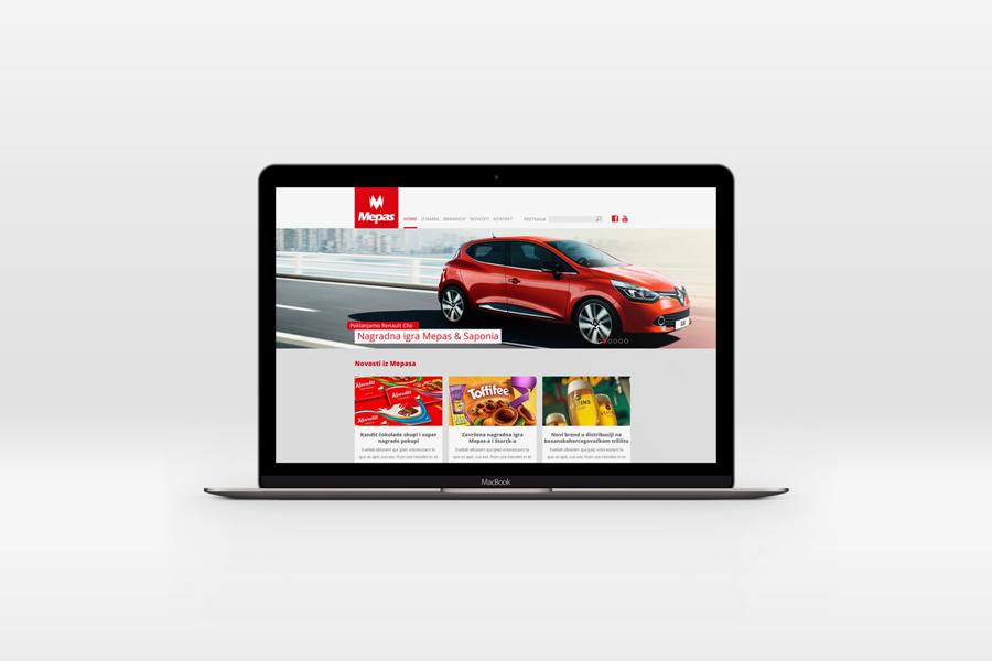 Dizajn web stranice mepas široki brijeg sbd