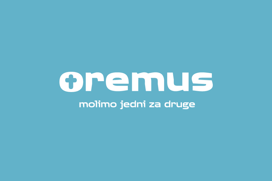 dizajn logotipa oremus aplikacije, shift agencija, grafički dizajn