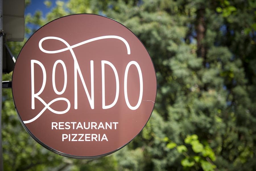 vizualni identitet, Rondo pizzeria, signalizacija