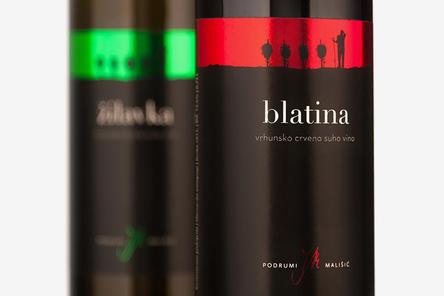 Brand identitet vina Mališić