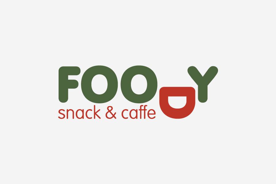 Vizualni identitet za Foody snack & caffe dizajn logotipa shift grafički dizajn