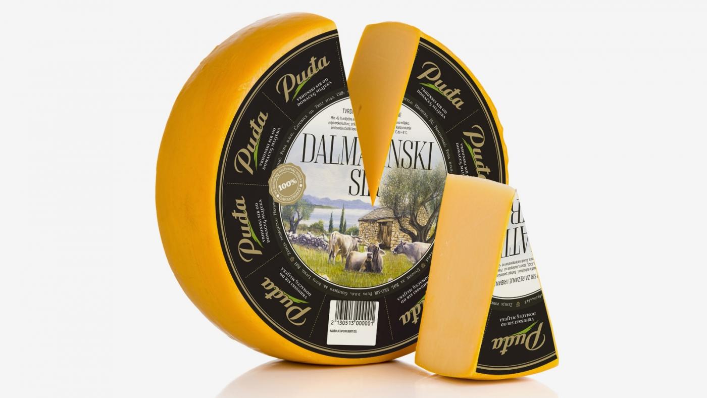 Redizajn ambalaže Puđa Dalmatinskoga sira