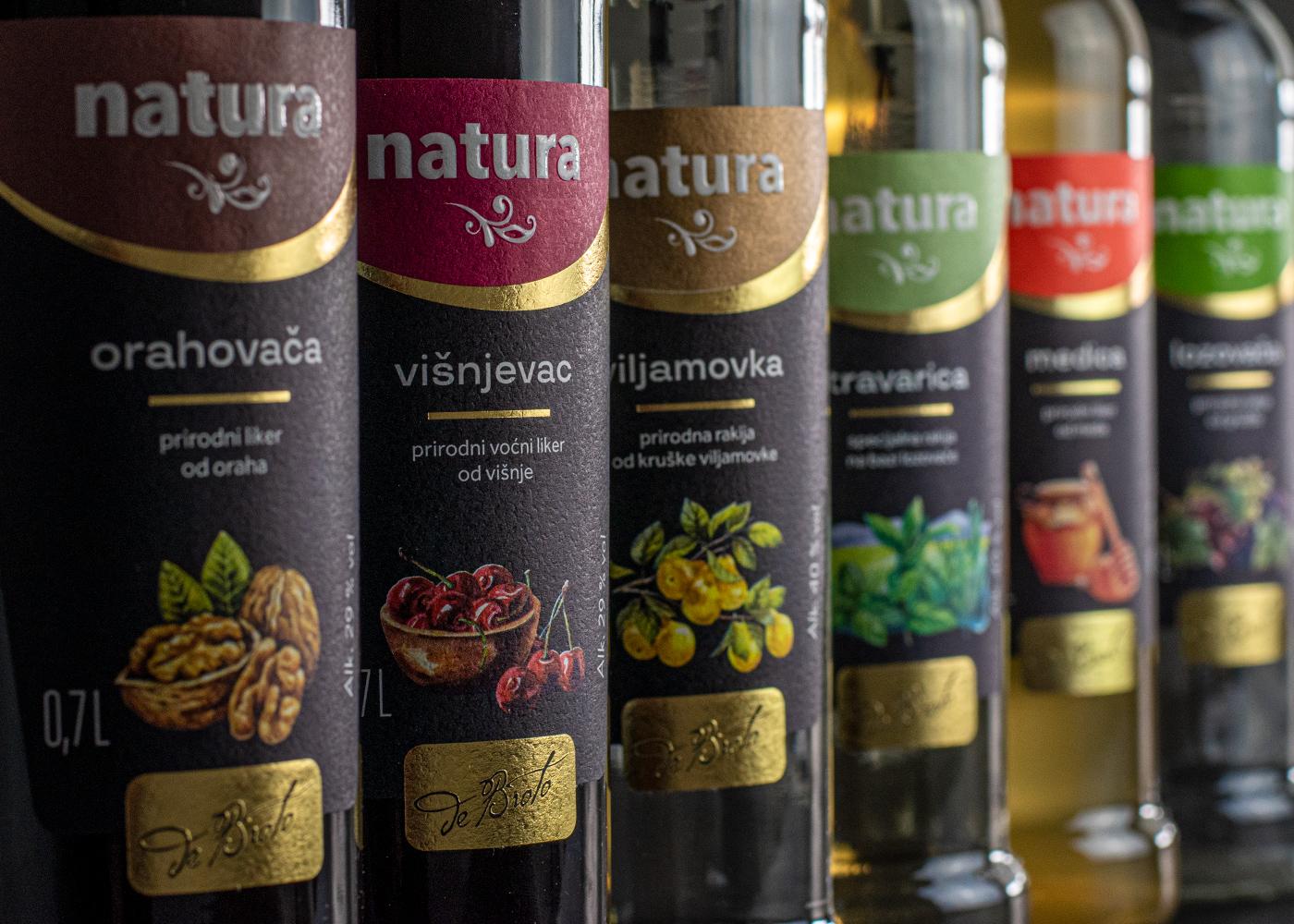 """Redizajn pakiranja linije proizvoda """"Natura"""""""