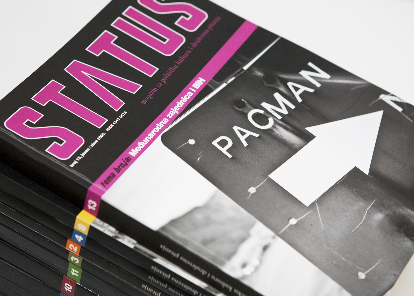 Grafička oprema magazina Status