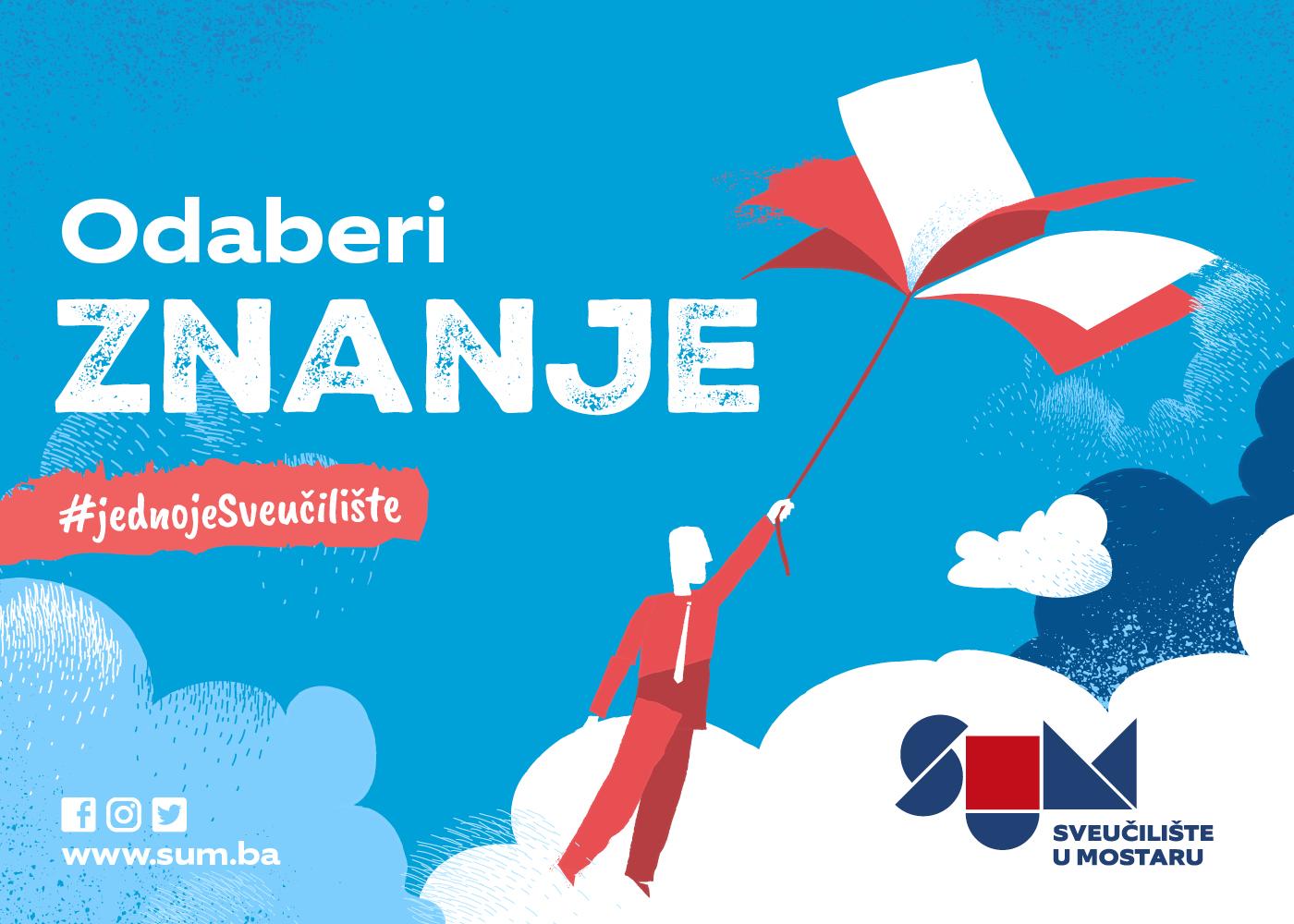 Promotivna kampanja Sveučilišta u Mostaru