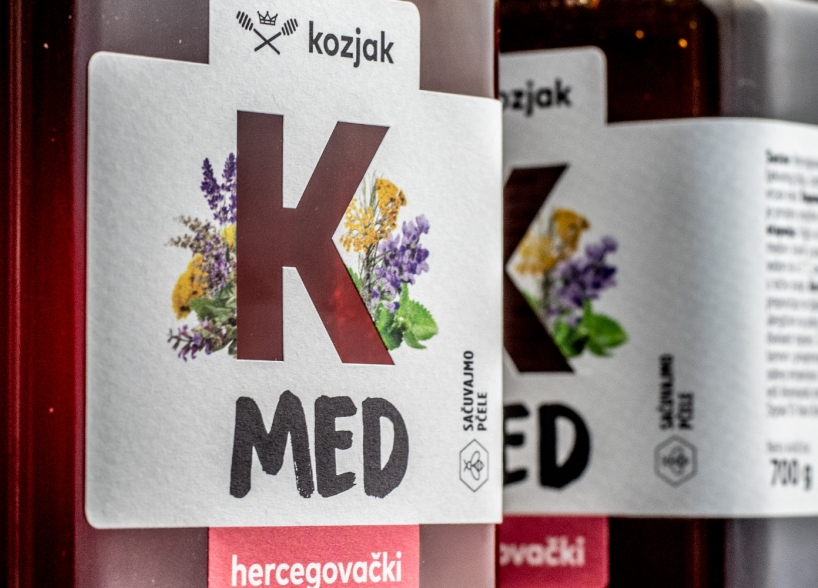 "Brand identitet hercegovačkog meda ""Kozjak"""