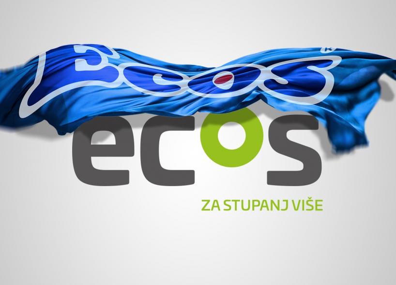 New visual identity of the company Ecos Ltd. from Vitez