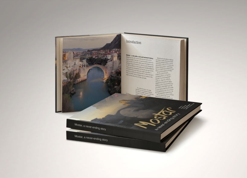 """Dizajn turističke monografije """"Mostar- beskrajna priča"""""""