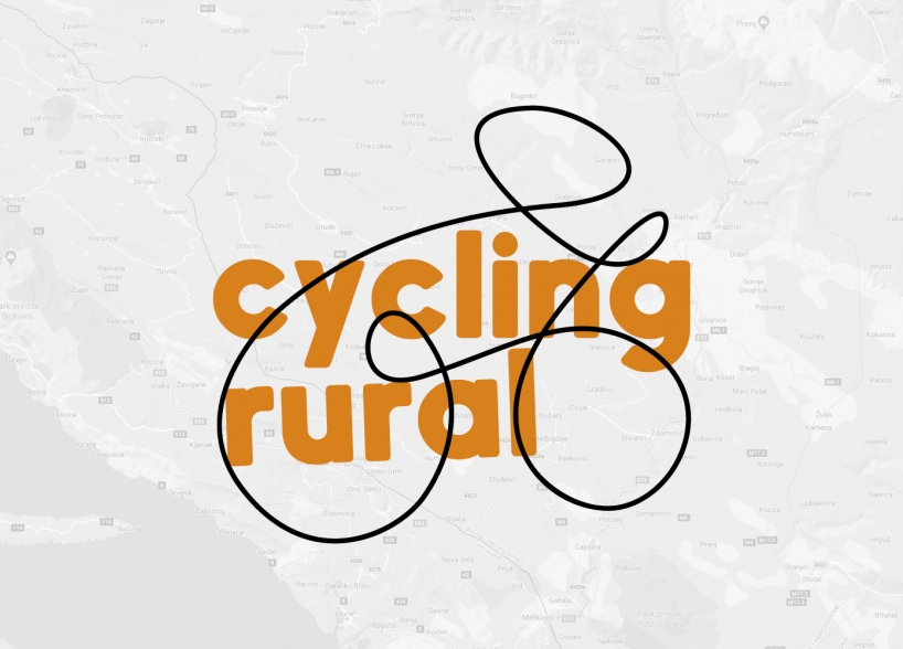 "Vizualni identitet ""Cycling rural"" projekta"