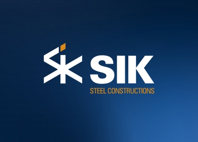 Logotip SIK Steel Constructions